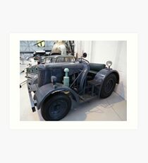 David Brown Tractor/Tug Art Print
