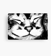 Sleeping Kitty ©  Canvas Print