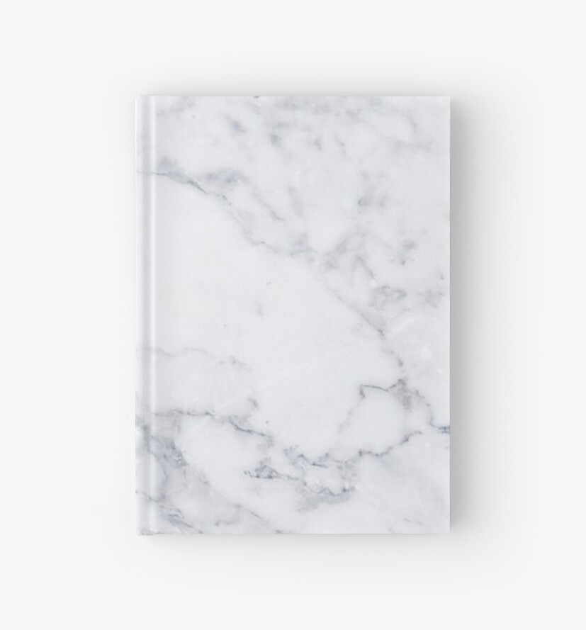 u0026quot white marble u0026quot  hardcover journal by mermaidnatalie