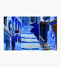 The Blue City IV Photographic Print