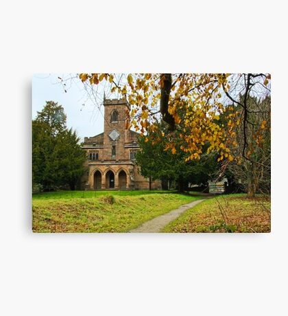ST Mary,s Cromford Church Derbyshire Canvas Print