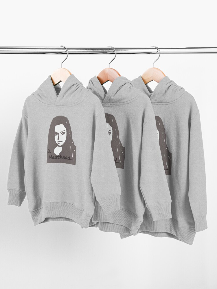 Alternate view of Orphan Black Oi Meathead Toddler Pullover Hoodie