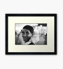 The Birder Framed Print