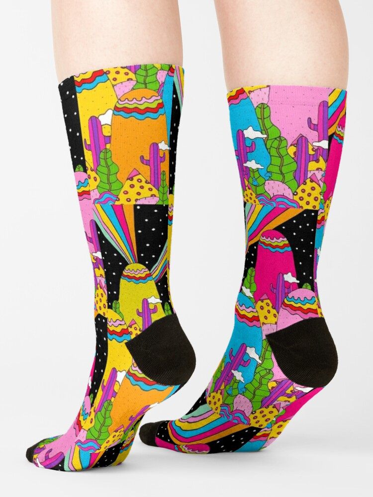 Alternate view of Night Sky Rainbow Socks