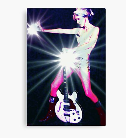 I am Tired of Pretending I'm Not a Total, Bitchin Rock Star from Mars Canvas Print