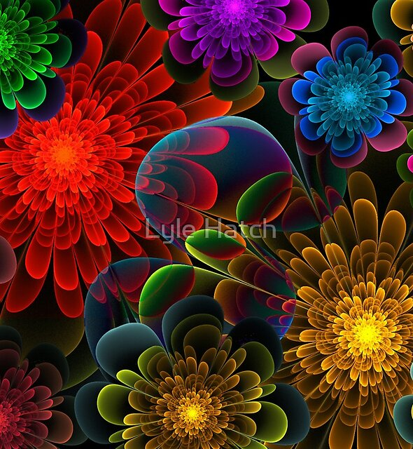 Fractal Bouquet by Lyle Hatch