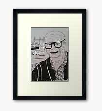 Chicago Cubs Harry Caray Framed Print