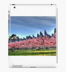 911 Flag Memorial: USA iPad Case/Skin