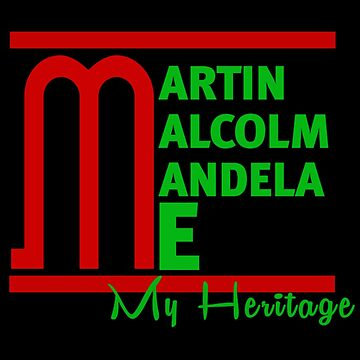Martin Malcom Mandela Me by MyHeritage