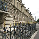 Ironwork and Stone - Louvre by Danielle Ducrest