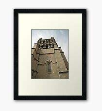 Up in the Tower - Lausanne, Switzerland Framed Print