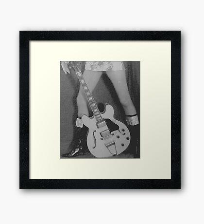 03-03-2011:  Space Rocker Legs Framed Print
