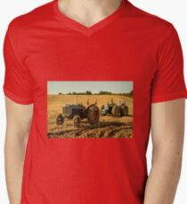 Golden Tractors  Mens V-Neck T-Shirt