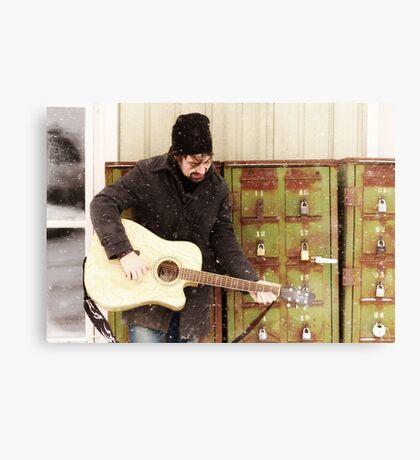 Mailbox Serenade Canvas Print