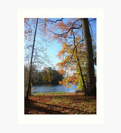Come sit with me beside Greenbelt Lake 2 Art Print