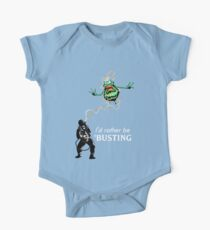 I'd rather be Ghostbusting One Piece - Short Sleeve