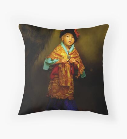 All Dressed Up Throw Pillow