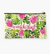 Tropical Wanderlust – Pink & Lime Studio Pouch