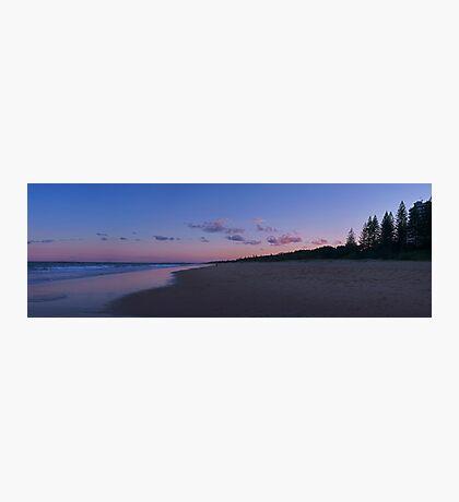 kawana beach at sunset Photographic Print