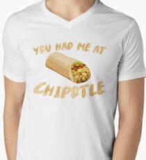 You Had Me At Chipotle Men's V-Neck T-Shirt