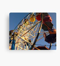What goes up, must come down..... Canvas Print