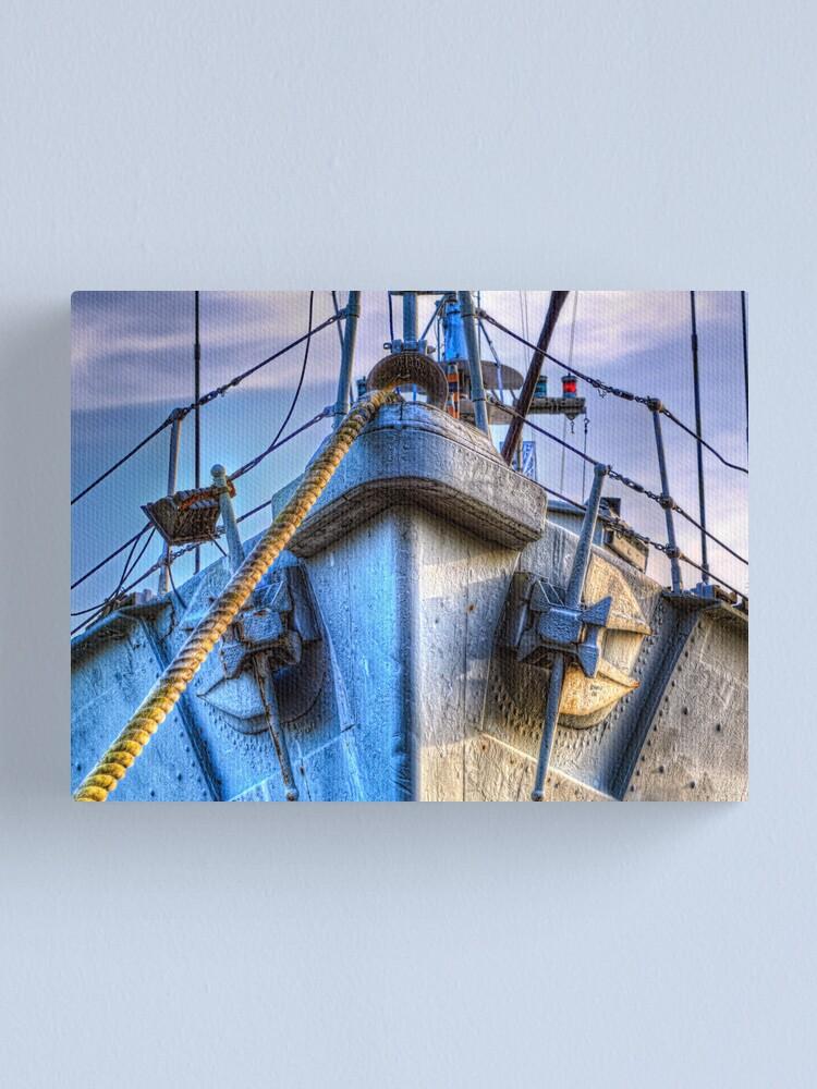 Alternate view of HMS Wilton Canvas Print