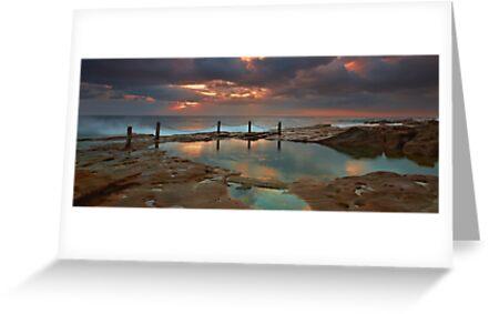 Ivo Rowe Pool - Sunrise by Mark  Lucey