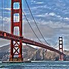 Golden Gate Bridge 1 by John Caddell