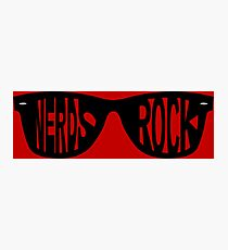 Nerds Rock Photographic Print