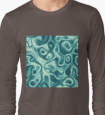 #DeepDream abstraction Long Sleeve T-Shirt