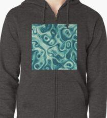 #DeepDream abstraction Zipped Hoodie