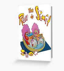 Ren & Stimpy Greeting Card
