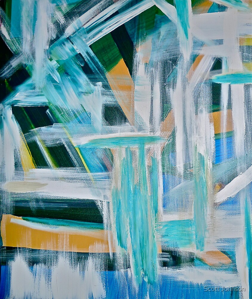 Must Be An Abstract Painting by Scott Johnson