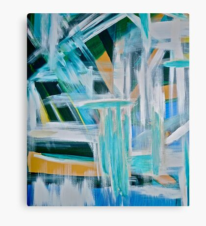 Must Be An Abstract Painting Canvas Print