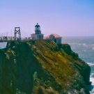 Point Bontia Lighthouse by Nancy Stafford