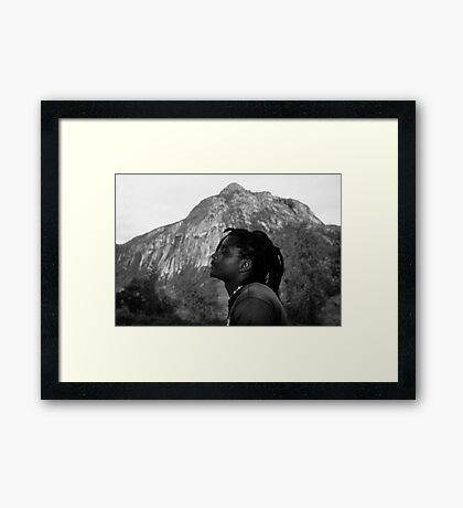 Soaking Up the Good Vibes Framed Print