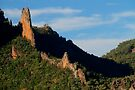 The Breadknife, Warrumbungle Ranges, NSW. by Andy Newman