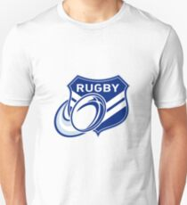 rugby ball and shield T-Shirt