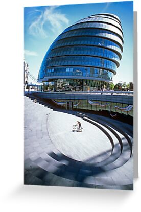 City Hall, London by Laurence Manly