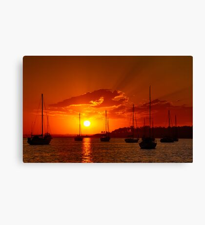 """Corio Dawn"" Canvas Print"