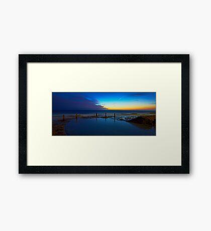 First Light - Ivo Rowe Pool  Framed Print