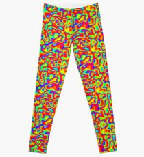 Rainbow Chaos Abstraction II Leggings