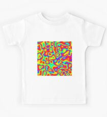 Rainbow Chaos Abstraction II Kids T-Shirt