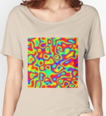Rainbow Chaos Abstraction II Relaxed Fit T-Shirt