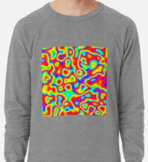 Rainbow Chaos Abstraction II Lightweight Sweatshirt