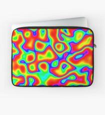 Rainbow Chaos Abstraction II Laptop Sleeve