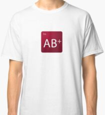 Blood Type - AB positive Classic T-Shirt