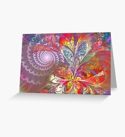 Different Dimensions Greeting Card