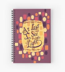 Tangled - At Last I See the Light Spiral Notebook
