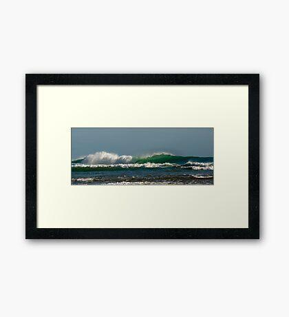 Tasman Sea Framed Print